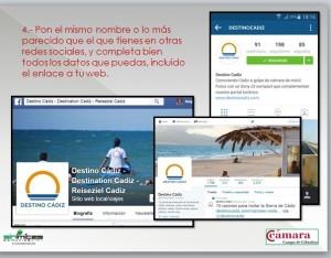 Imagen de marca en Destino Cádiz