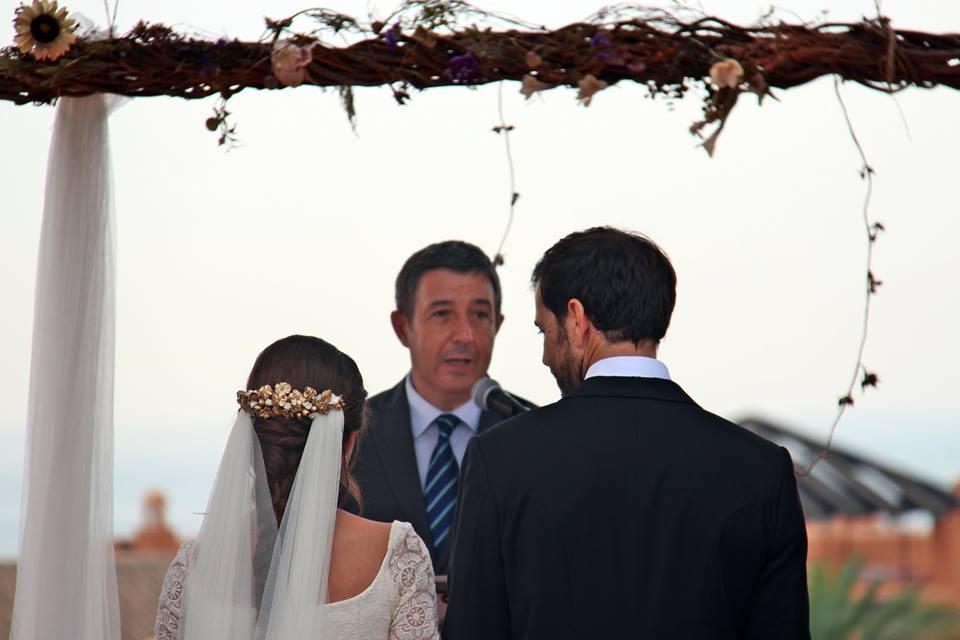 Maestros de ceremonias en bodas