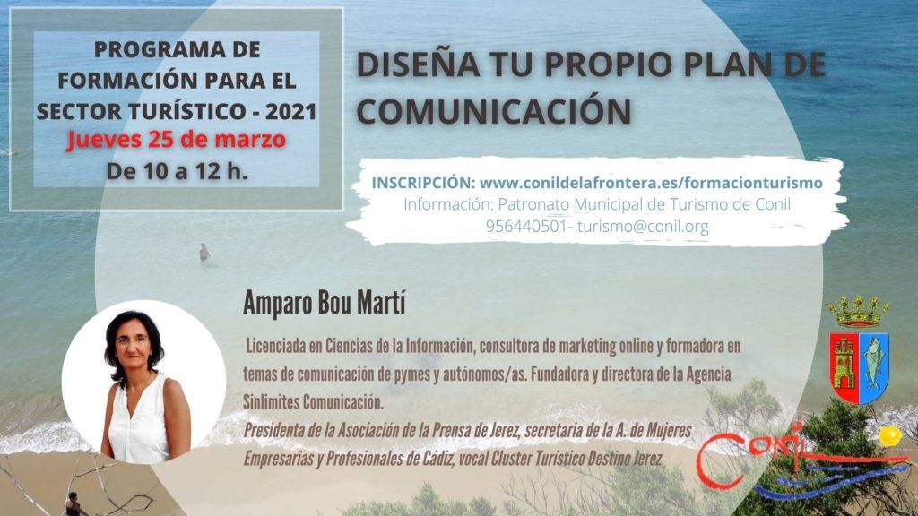Curso online webinar diseña tu propio plan de comunicación para empresas con Amparo Bou